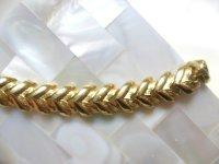 ゴールドメタルブレスレット(ヴィンテージ)