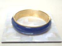 藍色エナメルブレスレット(ヴィンテージ)