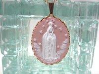 聖母マリアカメオネックレス(ヴィンテージ)