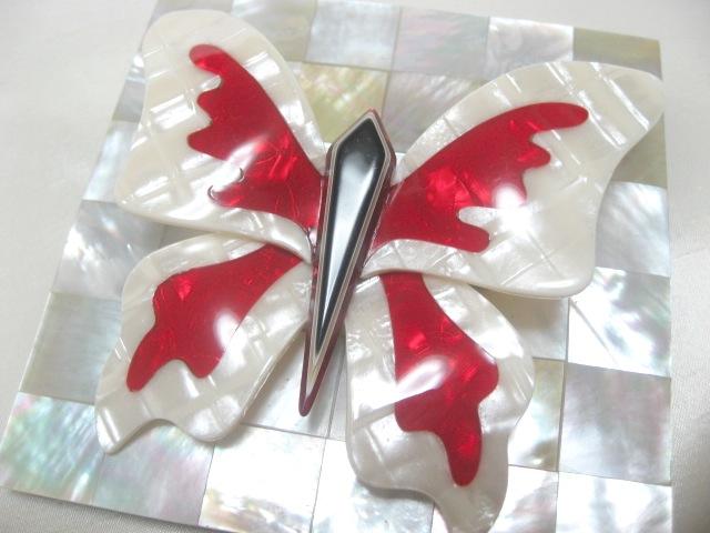 画像1: LEA STEIN (リア・スタン)蝶のブローチ