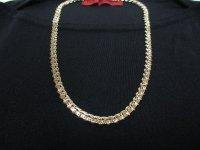 ゴールドメタルネックレス(ヴィンテージ)