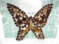 KRAMER蝶のブローチ(ヴィンテージ)