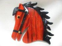 LEA STEIN (リア・スタン)馬のブローチ