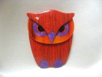 LEA STEIN (リア・スタン)フクロウのブローチ