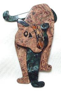 LEA STEIN (リア・スタン)獅子のブローチ