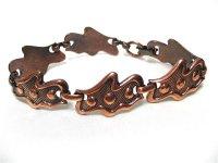 銅製ユニークなブレスレット(ヴィンテージ)