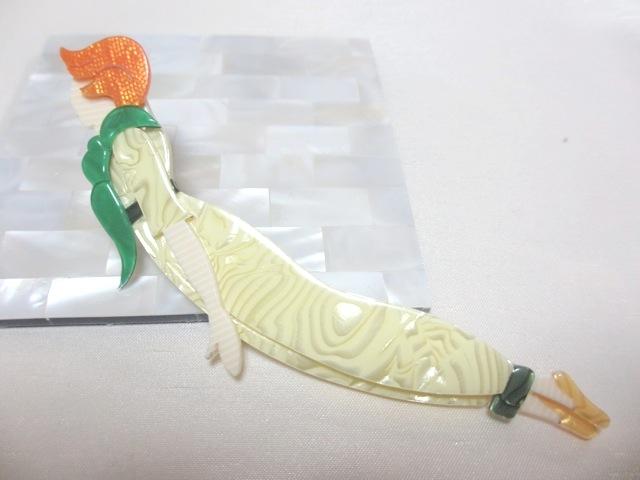 画像1: LEA STEIN (リア・スタン)ダイバーブローチ