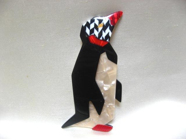画像1: LEA STEIN (リアスタン)ペンギンのブローチ