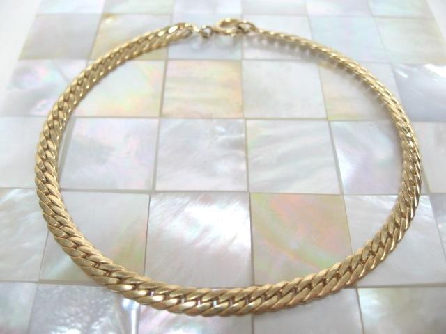 画像1: ゴールドメタルブレスレット(ヴィンテージ)