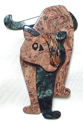 画像1: LEA STEIN (リア・スタン)獅子のブローチ