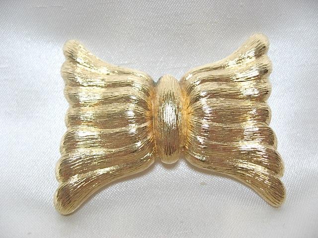 画像1: MONETゴールドエキゾティックブローチ(ヴィンテージ)